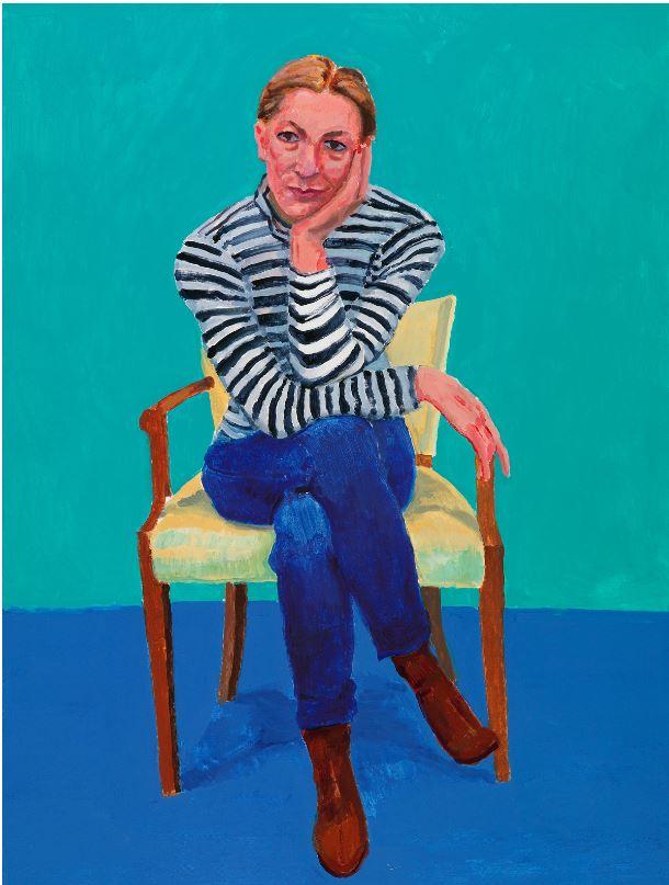 hockney portrait
