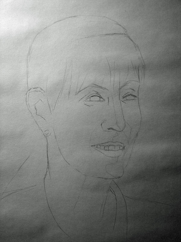 Sketch for pastel